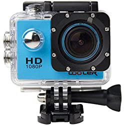 Cooler Kiptop Full HD Sports & Action s Camcorder - Blue