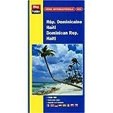 Carte routière et touristique : République Dominicaine - Haïti, N° 322 (avec un index)