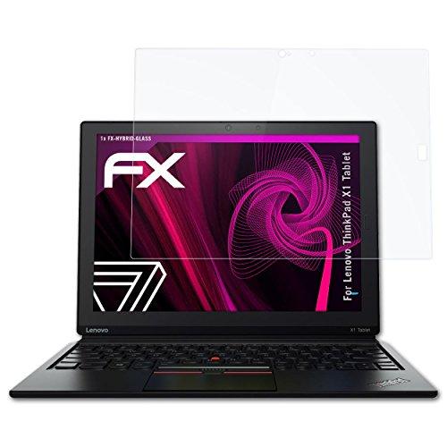 atFolix Glasfolie kompatibel mit Lenovo ThinkPad X1 Tablet Panzerfolie, 9H Hybrid-Glass FX Schutzpanzer Folie