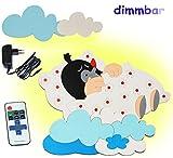 3-D Wandlampe - LED dimmbar
