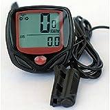 Lmeno Wasserdichtes Fahrrad Fahrradtacho Tachometer Fahrradcomputer Kilometerzähler Odometer Radfahren Stoppuhr
