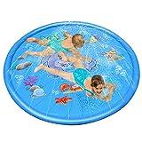 PETDOGSP Mehrfarbig Wasser-Sprinkler Wasser-Spielzeug Garten-Sprenger Rasen-Sprenger Garten-Schlauch Wasser-Schlauch Kinder-Spielzeug Pool-Kanone Planschbecken