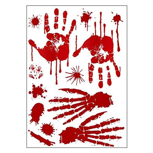 Kostüm Horror Realistische - Horror Realistische Blutverletzung Narbe Wunde Aufkleber Fake Tattoos Kostüm Make-up