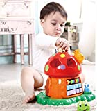 Multifunctional Learning Play Center with piano, abacus and shapes sorter - Baby Birthday Gift for 1 year boy girl, for 2 year old girl boy and for 3 year old boy girl child, Best Educational toys Learning toddlers Musical toys