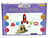 #10: Funvention Disc Launcher - DIY Science Educational Toy - STEM Learning Kit - Learn Newtons Law of Gravity with Fun Do It Yourself Innovative Toy Kit for Kids - Birthday Gift