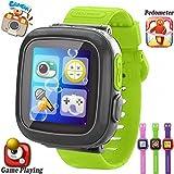 Gioco per bambini orologi intelligenti [AR Pro Edition] per bambine, con contapassi timer fotocamera...
