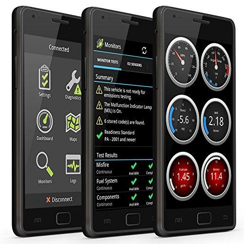 ScanTool Herramienta de diagnóstico, OBDLink LX 426101, BluetoothHerramienta de diagnóstico profesional OBD-II, para Android y Windows.