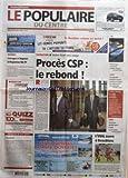 POPULAIRE DU CENTRE (LE) [No 247] du 22/10/2005 - BASKET - LIMOGES S'IMPOSE A BAYONNE...