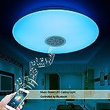 Autai LED Deckenleuchte mit Bluetooth Lautsprecher Musik Sync Halterung dimmbar