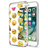 Eouine Coque iPhone 6s, Coque iPhone 6, Etui en Silicone 3D Transparente avec Motif...