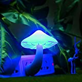 Portable Mushroom Lamp Bedside Wall Lava Lamps Night Light LED Small Light