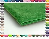 Polar Antipilling Fleece Stoffe 200 g / m² von allerbester Qualität erhältlich in 50 Farben 50 x 155 cm (Nr 35 Grün)