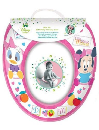 Disney Minnie Mouse 'pink' Kids WC Sitz gepolstert Soft Potty Training