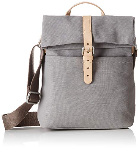 Clarks Damen The Malton Rucksackhandtasche, Grau (Grey Canvas), Onesize