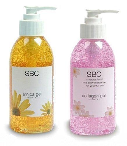 SBC Collagene Gel & Gel Arnica 125ml Bottiglie Con Pompa