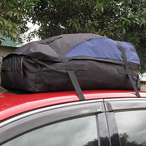 OLDF Universal Roof Top Storage Soft Cargo Bag, Cargo Carrier Bag Roof Top-Wasserproof Gepäckträger Travel Cargo Rack Storage Bag Carrier 15 Cubic Feet (Keine Notwendigkeit für Regale) -