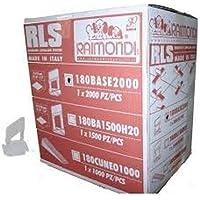 Raimondi 2000pcs caja de 1,5mm de ancho Tamaño estándar Base Clip Para Sistema de nivelación