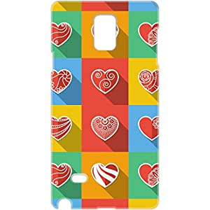 a AND b Designer Printed Mobile Back Cover / Back Case For Samsung Galaxy Note 3 (SG_N3_3D_2391)