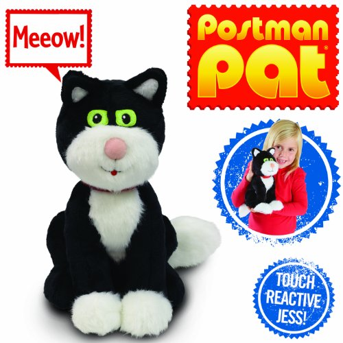 "Image of Postman Pat 04713 ""Pat Stroke and Purr Jess"" Plush Toy"
