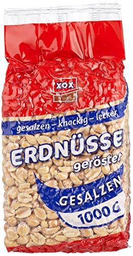 XOX Erdnüsse gesalzen,2er Pack (2 x 1 kg)