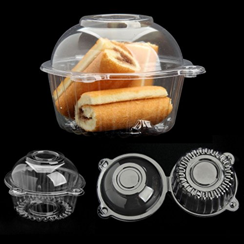 bubble-epoch-100pcs-clear-puff-pastry-box-cake-plastic-box-snack-pack-container-cupcake-case