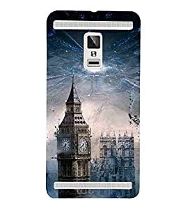 For Vivo X3S beautiful city ( beautiful city, building, city ) Printed Designer Back Case Cover By TAKKLOO