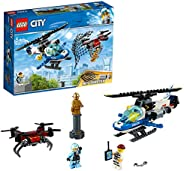 Lego Toy City Sky Police Drone Chase , For age 5 Years and above - 60207