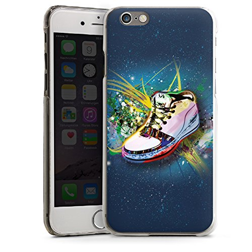 Apple iPhone 5s Housse Étui Protection Coque Chaussures Chaussures Baskets CasDur transparent