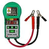 Automotive Batterie Tester 6 V / 12 V Digitale Batterie Analyzer Bleiakkumulatoren Automotive Batterielast Tester für UPS Batterie, Solar Energy Storage Battery, Marine Batterie (20A 5Ah ~ 80Ah)