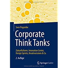 Corporate Think Tanks: Zukunftsforen, Innovation Center, Design Sprints, Kreativsessions & Co.