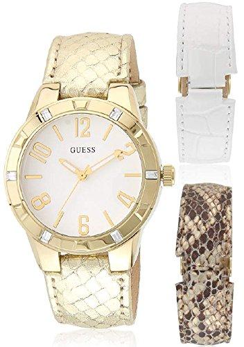 Watches Guess Womens Reloj W0163l2 Glimmer E2DeWYH9I