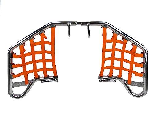 Compatible avec Polaris Trail Boss 330 et 2 x 4 Paire de Clignotants /à Ampoule 10 W 90079 Lampe de Couleur Noire homologu/ée pour Moto Verre Blanc lumi/ère Orange