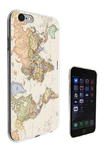 5c World Iphone-hülle Map (178 - Cool Fun World Map The World Look Design iphone 6 6S 4.7'' Fashion Trend Silikon Hülle Schutzhülle Schutzcase Gel Rubber Silicone Hülle)