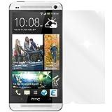 dipos I 2X Schutzfolie klar passend für HTC One Max Folie Displayschutzfolie