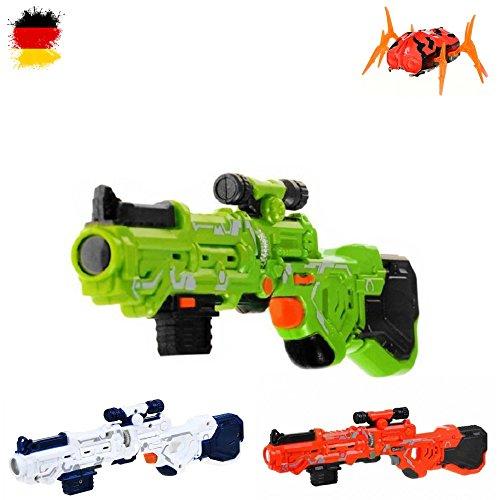 inengewehr mit Alien-Käfer Bug, Battle Infrarot Laser Gun, Laserpistolen, Laserspiele für Kinder (Zu Hause Kostüme)