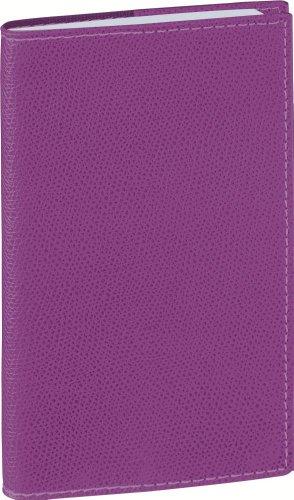 Quo Vadis - Club - Planorizon Spiralé - Agenda Civil Semainier 8,8x17 cm Violet - Année 2016