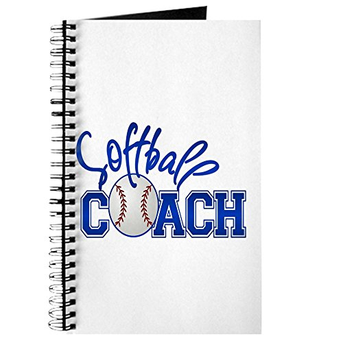 CafePress Softball Coach Tagebuch Standard Lined