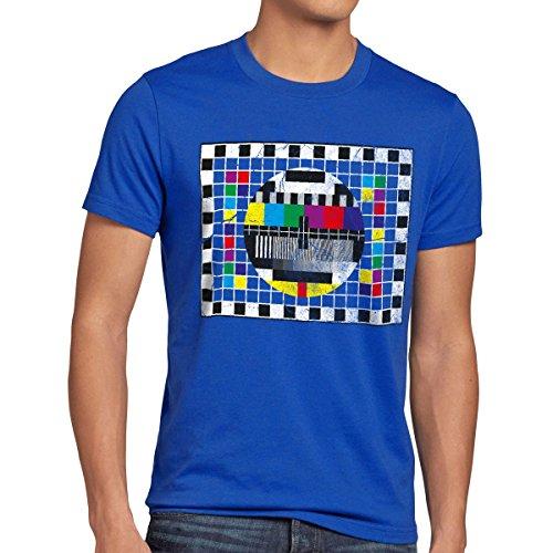 style3 Testbild Herren T-Shirt sheldon, T-Shirt Hauptfarbe:Blau;Größe:L (Fan-heimkino)