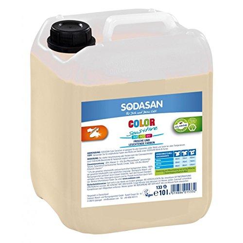 SODASAN Color sensitiv Flüssigwaschmittel 5L - Color Waschmittel ohne Enzyme