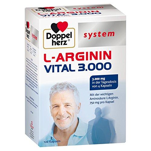 Doppelherz system L-ARGININ VITAL 3.000, 120 St. Kapseln