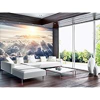 ForWall Fototapete Vlies Tapete Vliestapete Design Tapete Moderne Wanddeko  Wolken VEXXXL (416cm. X 254cm