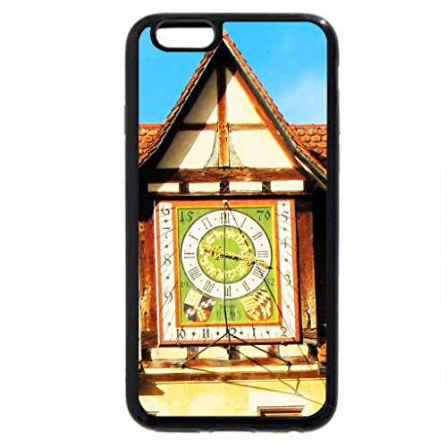 iPhone 6S / iPhone 6 Case (Black) Old Monastery Clock
