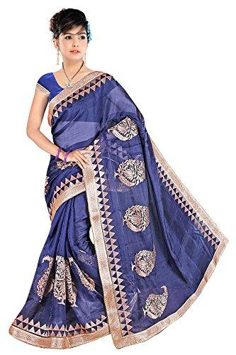 Bani Thani Sarees Linen Saree (Wrk3006_Violet)