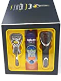 Gillette Fusion Proshield Flexball Rasierer & 170ml Fusion Proglide Gel & Box