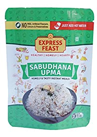Express Feast Ready to Eat Sabudana Upma - Pack of 6