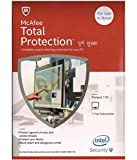 #8: McAfee Total Protection- 1 User, 1 Year CD/DVD