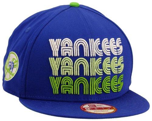 New Era New York Yankees Snapback Tri Frontal Royal / Limegreen / White - S-M