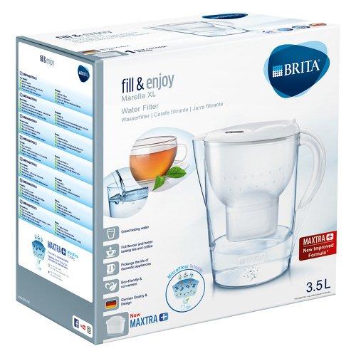 BRITA fill & enjoy Wasserfilter Marella XL weiß 1 St