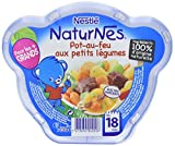 Nestlé Bébé Naturnes Pot au feu aux petits Légumes Assiette dès 18 mois 250g - Lot de 3