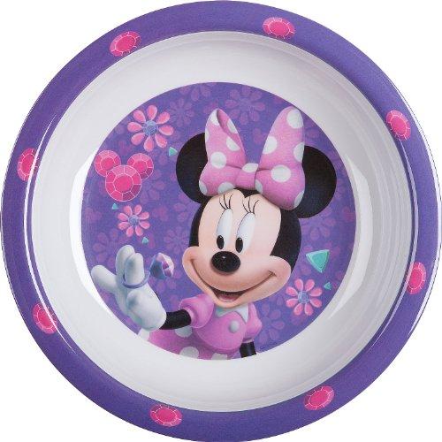 p:os 68806 Melamin-Suppenteller Minnie Gems, Durchmesser ca. 19,5 cm